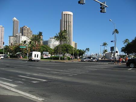 2010ハワイ。アラモアナ・ババガンブシュリンプ。