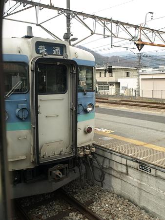 115系(大月駅)