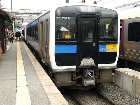 キハE200(小淵沢駅)