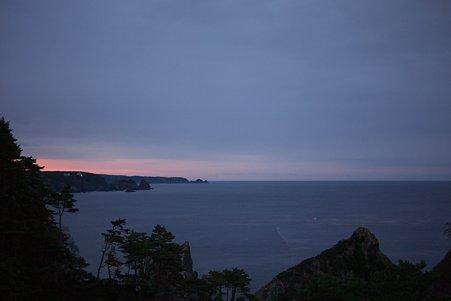2010.10.28 姉ヶ崎 展望台から夕景