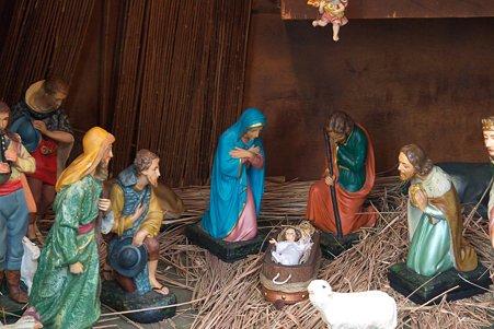 2010.12.22 大池公園 教会 キリストの降誕