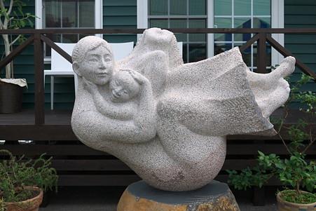 2011.07.27 越後 ヤスダヨーグルト 母と子 漆山昌志