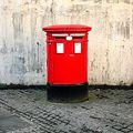 ロンドンの郵便ポスト