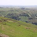 写真: 100512-39九州ロングツーリング・阿蘇山・大観峰からの外輪山