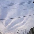 写真: 最近多い空模様