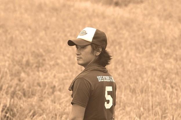 Photos: ジュピター37A 135mm  稲刈り開始