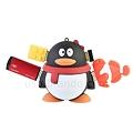 写真: USB2.0ペンギン型4ポートハブ3