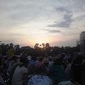 写真: 夕暮れです。今の風景に長澤...