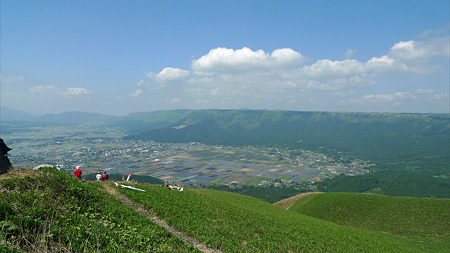 新緑の大観峰(5)