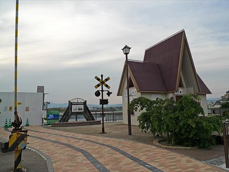 筑後川昇開橋展望公園(1)昇開の鐘