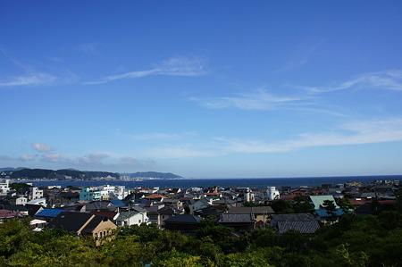 鎌倉の海岸線