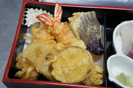 天ぷらもしっかり