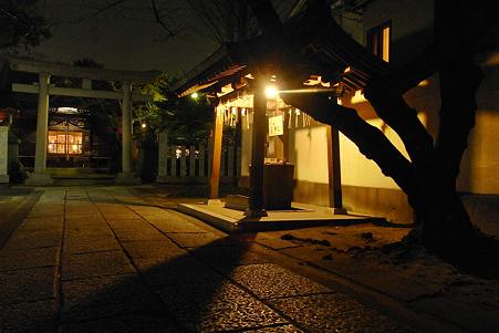 夜の稲荷詣