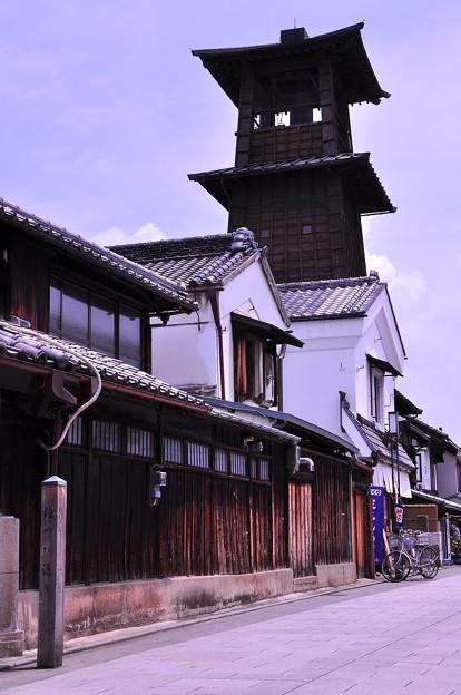 ここ川越蔵造の町並みのシンボル時の鐘・・20120624