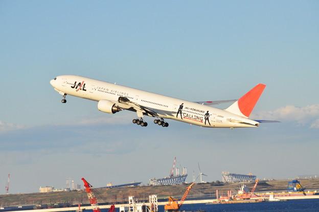 コブクロジェットと仮称東京港臨海大橋