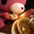 Photos: .@morichack グル~ミ~もカレー食べてごちそうさまです!! #denycury