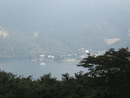 芦ノ湖なう