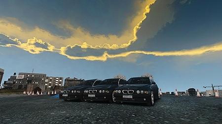 GTAIV BMW 530I E39 9