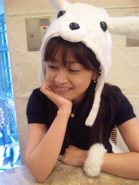 写真: おはぴこ(・∀・)♪ぢゃ、ウサギ流出www RT @nagae_iXmedia: ウサギ流出オッケ...